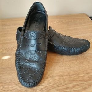 Gucci San Marino Driver shoes black size 7.5/US 8